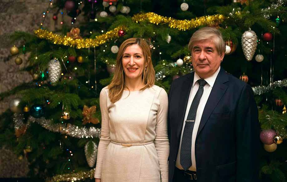 Traditional Reception at the Russian Embassy for Christmas and New Year
