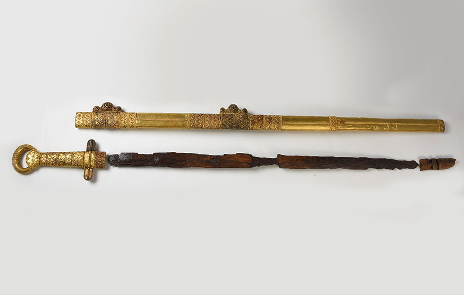 The Sword of Khan Kubrat in Bulgaria