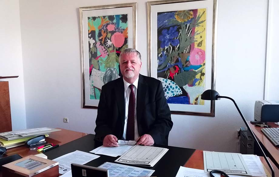 Interview with H. E. Herbert Salber, Ambassador Extraordinary and Plenipotentiary of the Federal Republic of Germany to the Republic of Bulgaria
