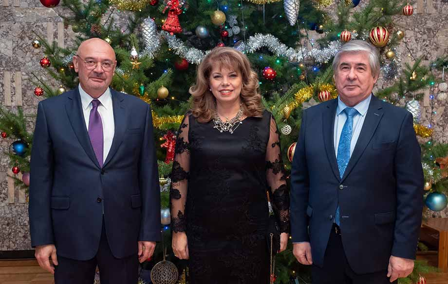 Reception for Christmas and New Year at the Embassy of Russia