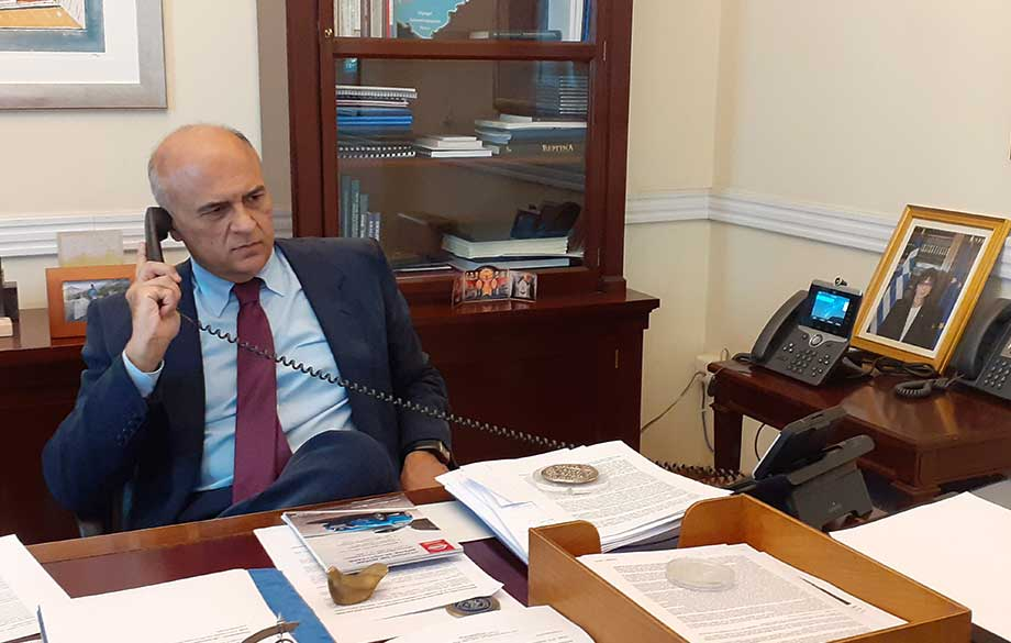 Interview with H. E. Mr. Dimitrios Chronopoulos, Ambassador Extraordinary and Plenipotentiary of the Hellenic Republic to the Republic of Bulgaria